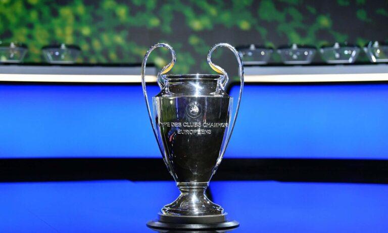 Champions League: Live η κλήρωση των «16»
