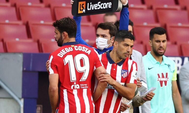 Επικός Ντιέγκο Κόστα: «Τώρα που γύρισα, ο μπ@στ@ρ… ο Σουάρες βάζει δυο γκολ»!