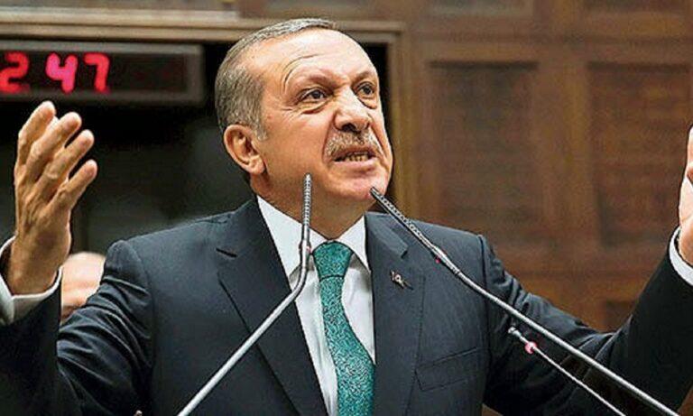 Αλαζόνας και πάλι ο Ερντογάν: «Όσοι απειλούν την Τουρκία με κυρώσεις στο τέλος θα απογοητευτούν»