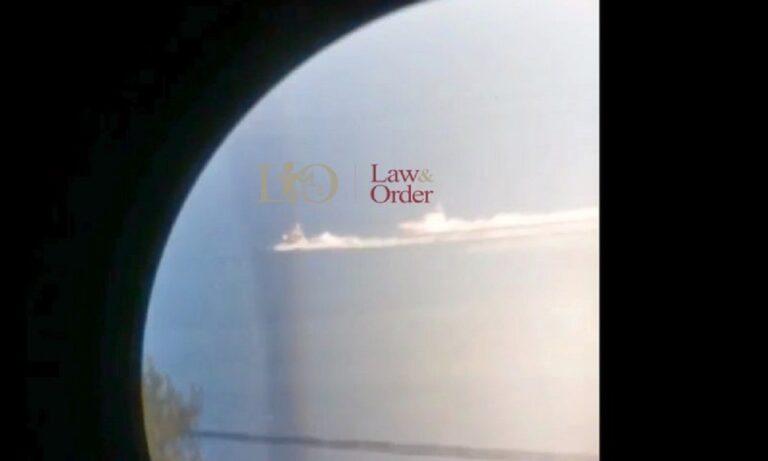 Ελληνοτουρκικα: Βίντεο-ντοκουμέντο του lawandorder.gr δείχνει πλοίο του ελληνικού λιμενιού να καταδιώκει τουρκική ακταιωρό.