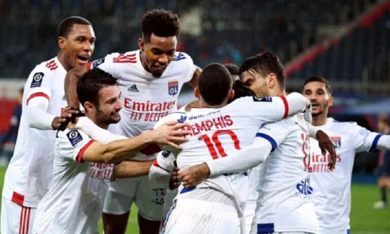 Παρί Σεν Ζερμέν – Λιόν 0-1: Ιστορικό διπλό κορυφής