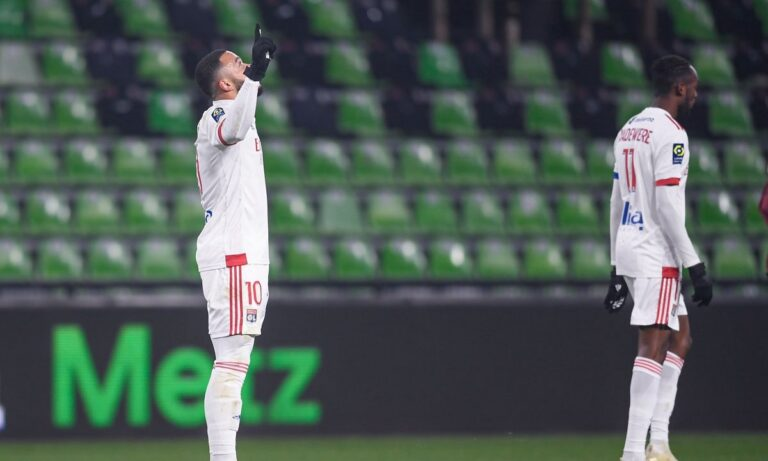 Μετς – Λιόν 1-3: Ξανά στο -2, επτά γκολ σε έξι ματς ο Εκαμπί!