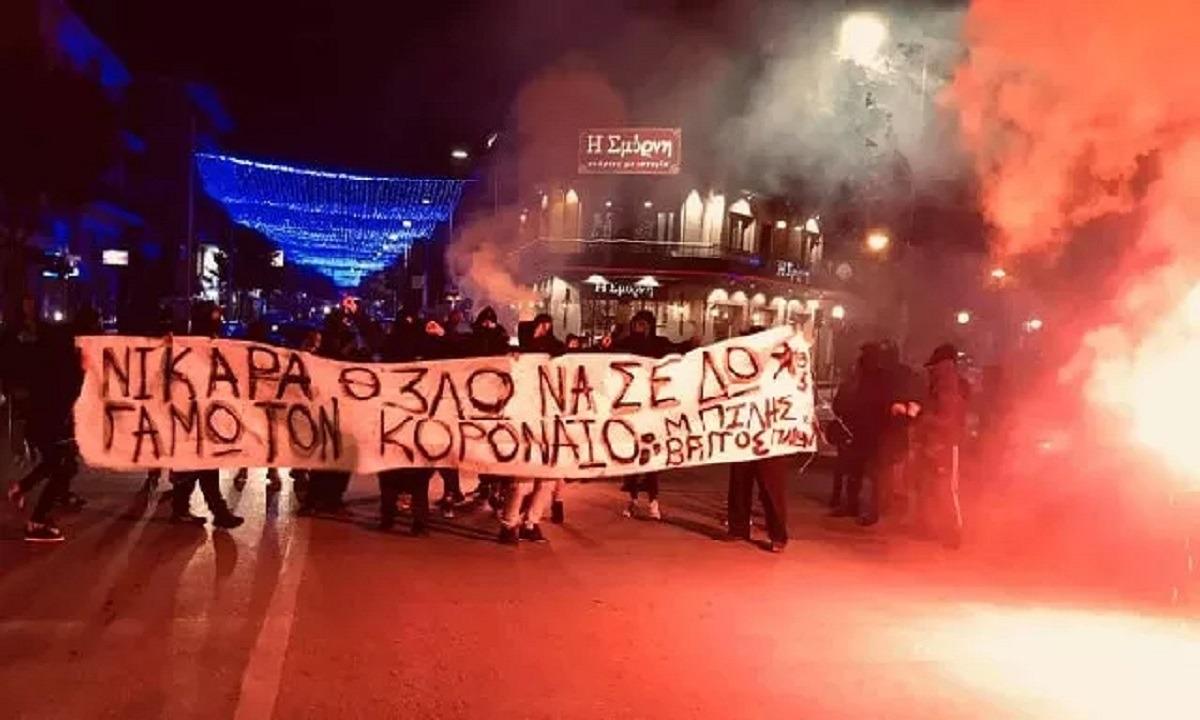 Νίκη Βόλου: Συλλαλητήριο οπαδών κατά του… κορονοϊού!