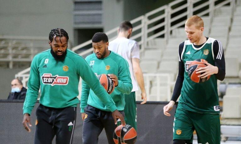 Παναθηναϊκός: Με 13 παίκτες στο Τελ Αβίβ