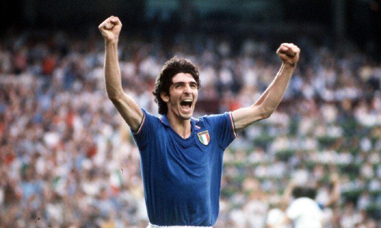 Θρήνος στο παγκόσμιο ποδόσφαιρο – Έφυγε ο Πάολο Ρόσι