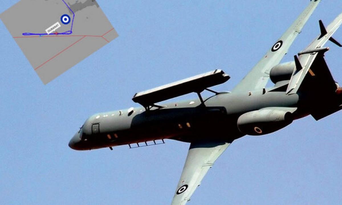 Ιπτάμενα Radar σαρώνουν συνεχώς τη Μεσόγειο!