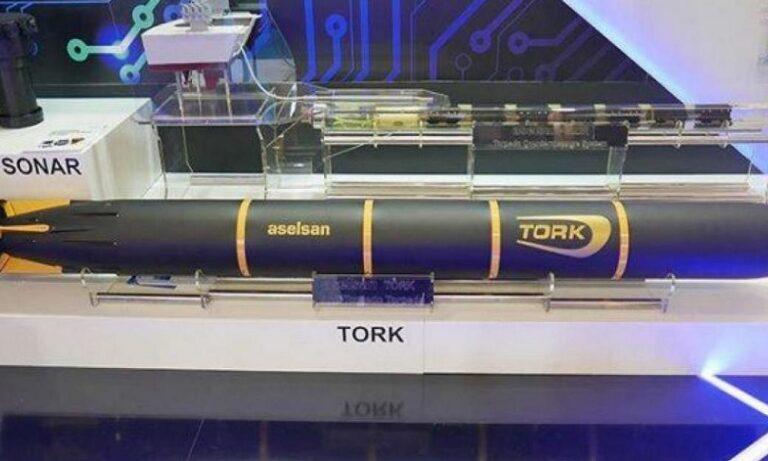 Ένα νέο σύστημα ενεργών αντιμέτρων το οποίο επιτυγχάνει την προστασία των πλοίων επιφανείας και των υποβρυχίων από τορπίλες, αναπτύσσει η Aselsan.
