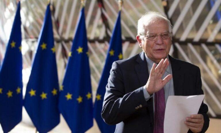 Ελληνοτουρκικά: Η ΕΕ «αδειάζει» την Ελλάδα – Μπορέλ: «Όχι κυρώσεις τώρα στην Τουρκία»
