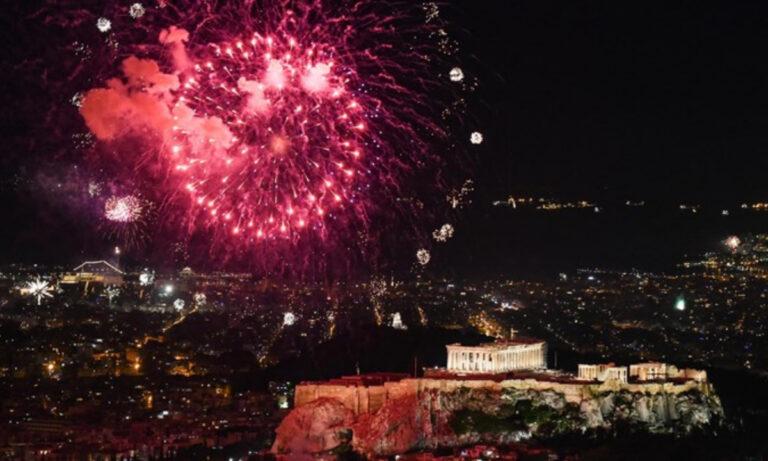 Αθήνα 2021: Οι εντυπωσιακές εικόνες της Πρωτοχρονιάς!
