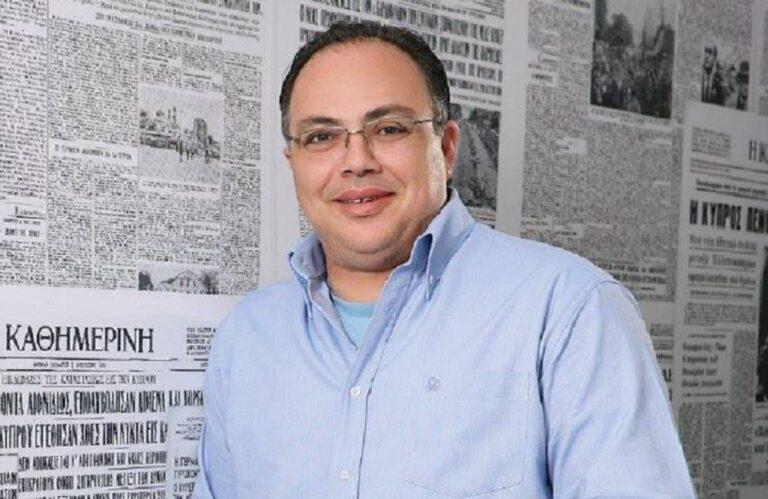 ΚΥΠΡΟΣ: Παραιτήθηκε ο Διευθυντής της Καθημερινής Κύπρου, Ανδρέας Παράσχος, μετά από άρθρο με καταγγελίες για Αναστασιάδη