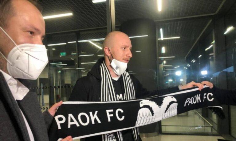 Κρμέντσικ: Έφτασε ο νέος φορ του ΠΑΟΚ