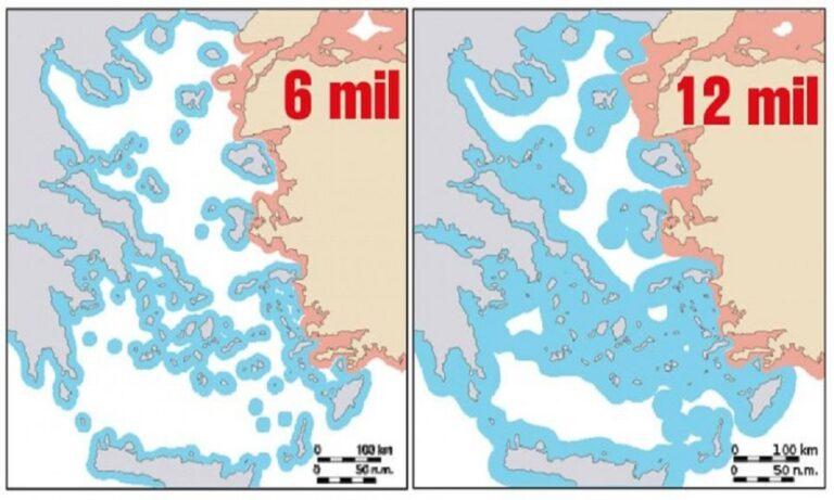 Ελληνοτουρκικά: Ένας κρυφός λόγος που οι Τούρκοι τρέμουν τα 12 μίλια στο Αιγαίο