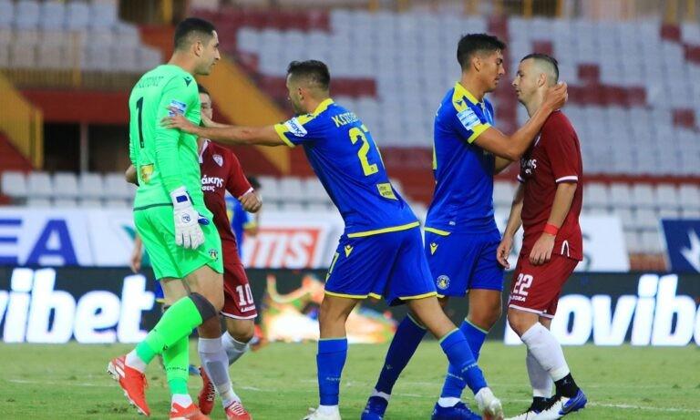 Αστέρας Τρίπολης-ΑΕΛ 1-0 (ΤΕΛΙΚΟ)