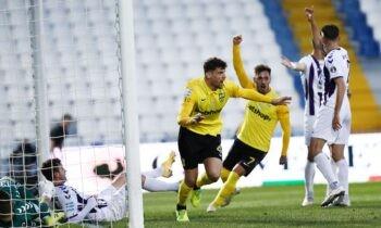 Απόλλων Σμύρνης-Άρης: 1-0 με το πρώτο γκολ του Νικόλα Ιωάννου