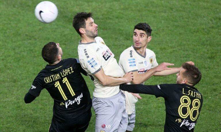 Άρης-ΑΕΚ 0-1: Το γκολ και τα καλύτερα στιγμιότυπα (vid)