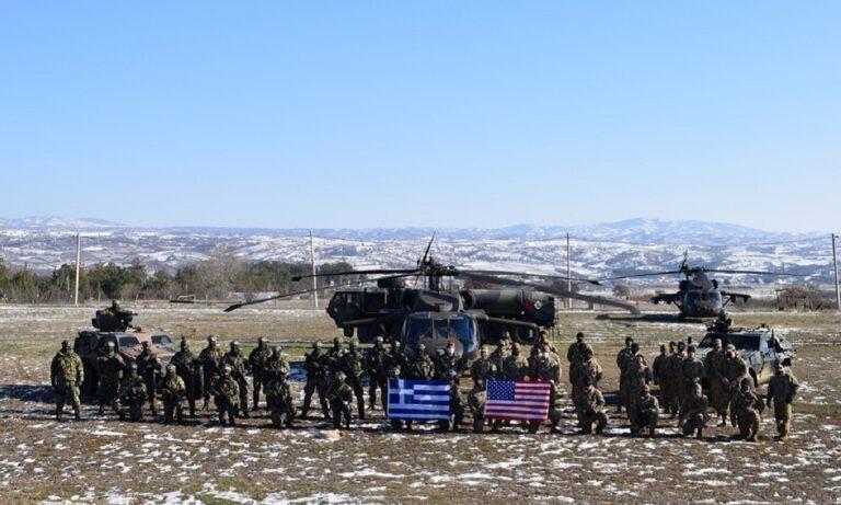 Ένοπλες δυνάμεις: Εντυπωσιακές εικόνες από την άσκηση «ΠΗΓΑΣΟΣ 21» – Ελλάδα και ΗΠΑ μαζί