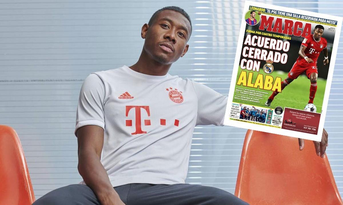 Αλάμπα – Marca: Ο παίκτης συνεχίζει στην Ρεάλ Μαδρίτης