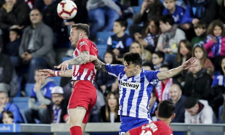 Αλαβές – Ατλέτικο Μαδρίτης 1-2 (ΤΕΛΙΚΟ)