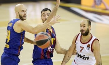 Euroleague (23η αγωνιστική): Κόντρα στη Μπαρτσελόνα ο Ολυμπιακός