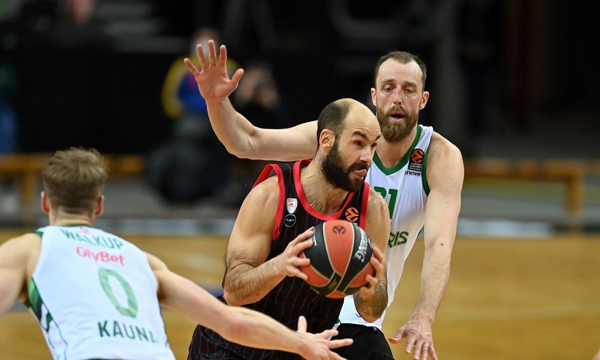 Euroleague 21η αγωνιστική: Αποτελέσματα και βαθμολογία
