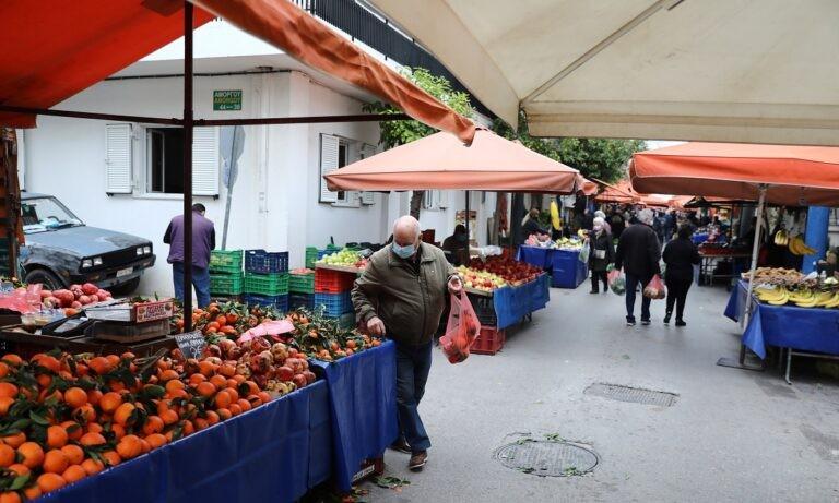 Λαϊκές αγορές: Τι αλλάζει από τη Δευτέρα 18/1