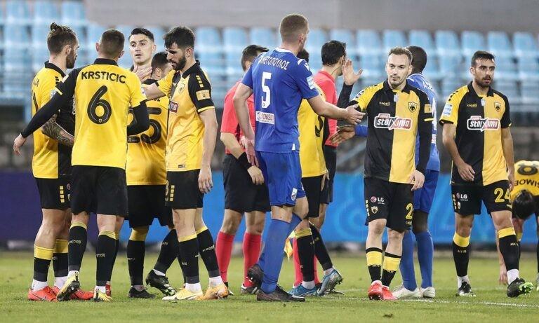 Λαμία-ΑΕΚ 0-1: Το γκολ και οι καλύτερες φάσεις (vid)