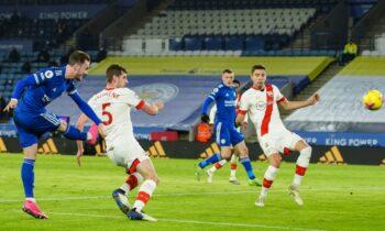 Λέστερ - Σαουθάμπτον 2-0: Ανέβηκε δεύτερη (vid)