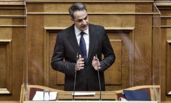 Μητσοτάκης: «Οι θάλασσές μας διπλασιάζονται - Επέκταση στη Κρήτη κι αλλού»
