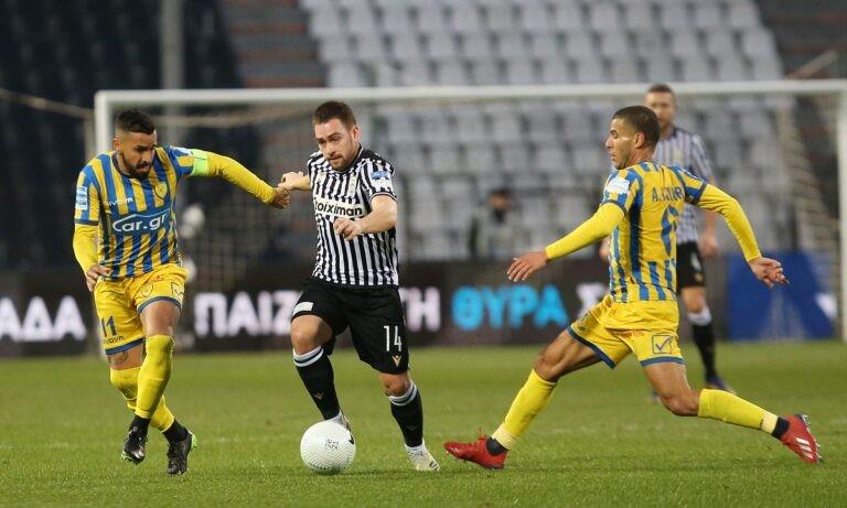 ΠΑΟΚ – Παναιτωλικός 5-0 ΤΕΛΙΚΟ