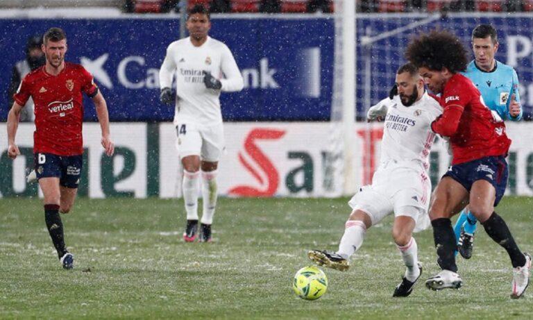 Οσασούνα – Ρεάλ Μαδρίτης 0-0: Άσφαιρη και… δεύτερη