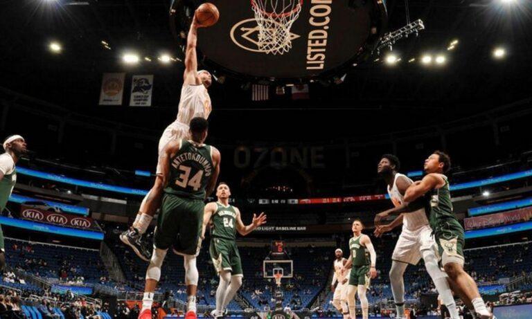 NBA Top 10: Ο Γκόρντον «πέταξε» πάνω από τον Γιάννη (vid)