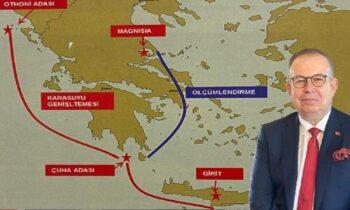 Ελληνοτουρκικά - Η Τουρκία «κλαίει»: «Οι Έλληνες βυθίζουν την Γαλάζια Πατρίδα»