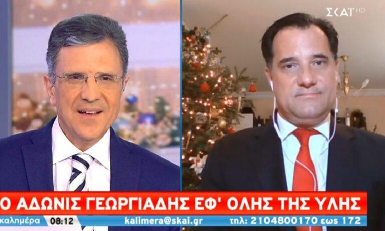 Άδωνις Γεωργιάδης: «Παράθυρο» για άνοιγμα λιανεμπορίου σε ζώνες (vid)