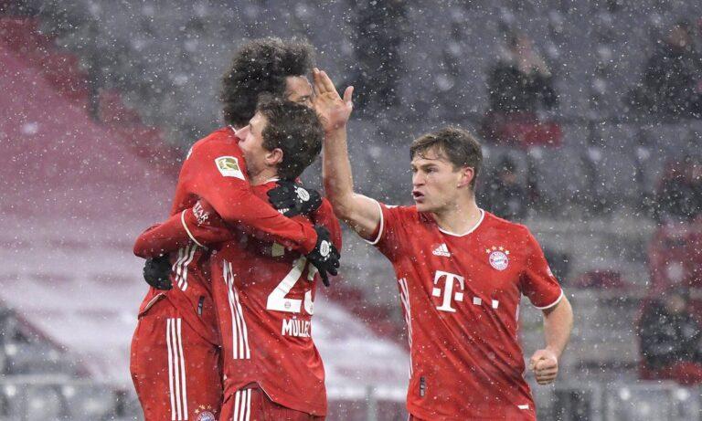 Bundesliga: Πρωταθλήτρια χειμώνα η Μπάγερν – Ο Λεβαντόφσκι ξεπέρασε τον Μίλερ!