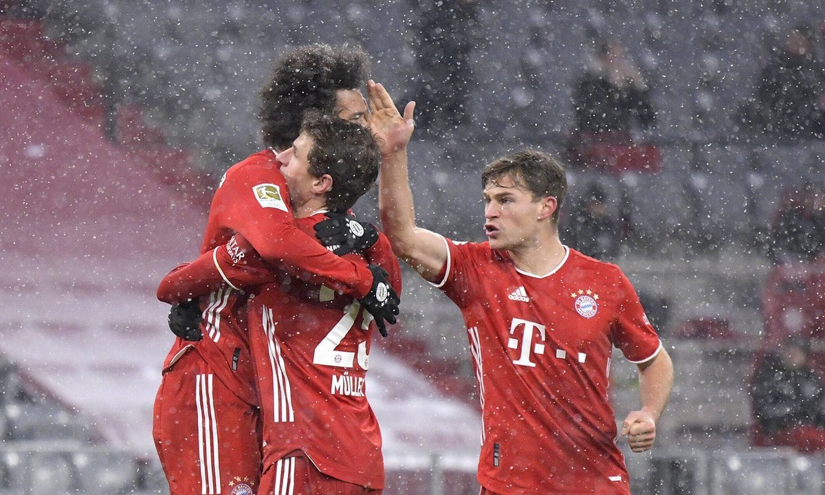 Bundesliga: Πρωταθλήτρια χειμώνα η Μπάγερν - Ο Λεβαντόφσκι ξεπέρασε τον Μίλερ!
