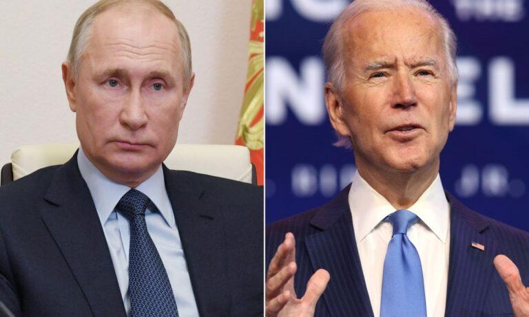 ΗΠΑ-Ρωσία: Πρώτη τηλεφωνική επικοινωνία Μπάιντεν- Πούτιν – Το περιεχόμενο της συζήτησης