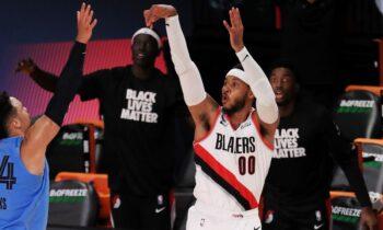 NBA αποτελέσματα: Σούπερ Μπλέιζερς «λύγισαν» τους Ράπτορς (vids)