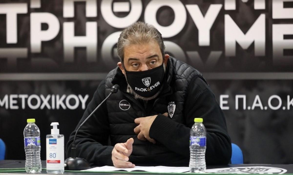 Χατζόπουλος: «Η καρδιά του ΠΑΟΚτση θα σώσει την ομάδα»