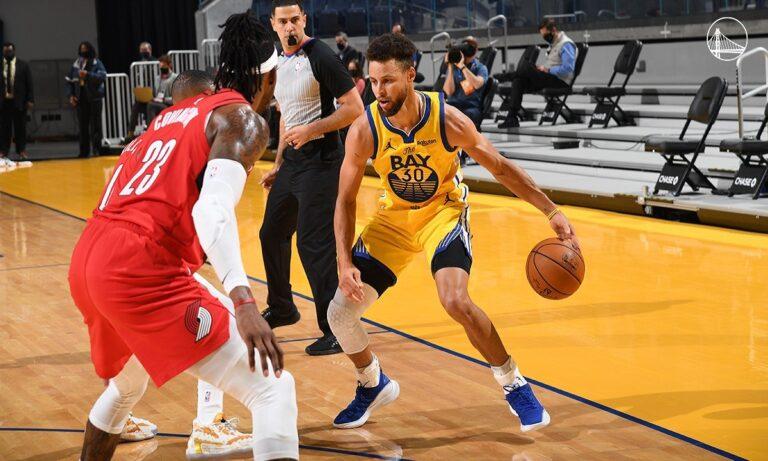 NBA: Έπιασε… φωτιά με 62 πόντους ο Κάρι – Ηγετικός ο ΛεΜπρόν (vid)