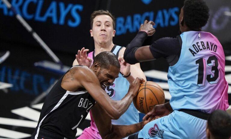 NBA αποτελέσματα: Οι Big 3 των Νετς είναι εδώ! «Λύγισαν» τον σούπερ Αντεμπάγιο (vids)