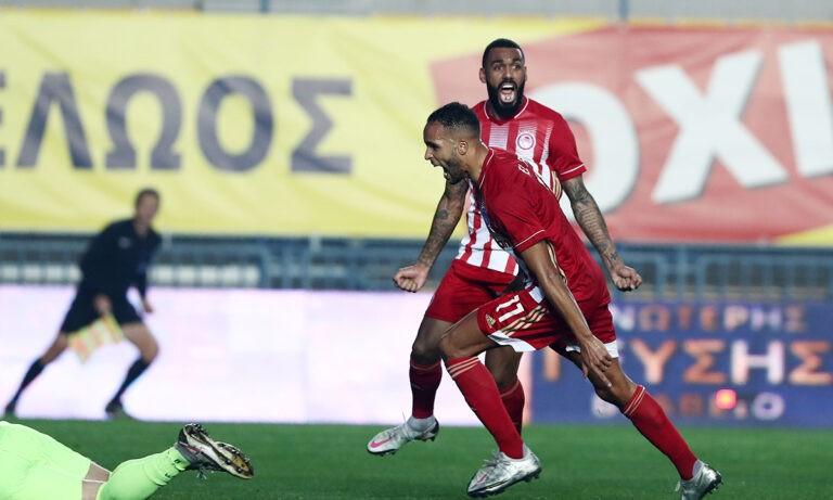 Παναιτωλικός – Ολυμπιακός: Απίστευτος Βαλμπουενά, 14 γκολ ο Ελ Αραμπί! (vid)