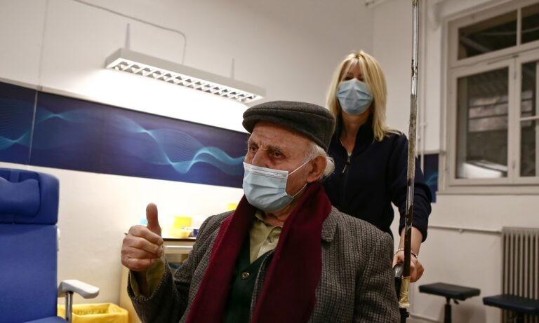 Κορονοϊός: Ξεκίνησε ο εμβολιασμός άνω των 85 ετών
