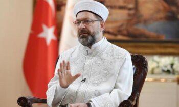 Eπίθεση στον Αρχιεπίσκοπο Ιερώνυμο από τον πρόεδρο Θρησκευτικών Υποθέσεων της Τουρκίας, ανώτατο ιμάμη, Αλί Ερμπάς.