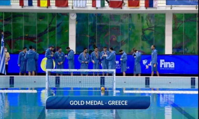 Ελλάδα – Μαυροβούνιο 12-7: Πρωτιά στην ευρωπαϊκή ζώνη του World League