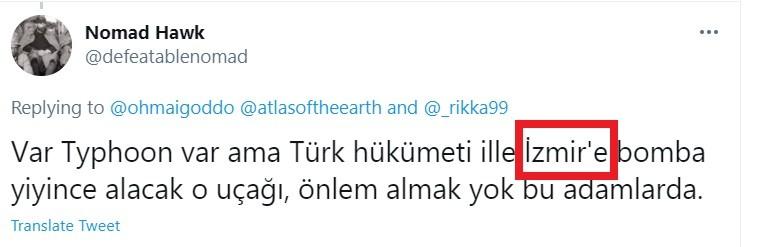 Τούρκοι: Χαμός γίνεται στο τουρκικό Twitter, με τους Τούρκους να προσπαθούν να βρουν τρόπους να αντιμετωπίσουν τα ελληνικά Rafale, ένδειξη του πόσο ενόχλησε η αγορά των γαλλικών μαχητικών από την Αθήνα.