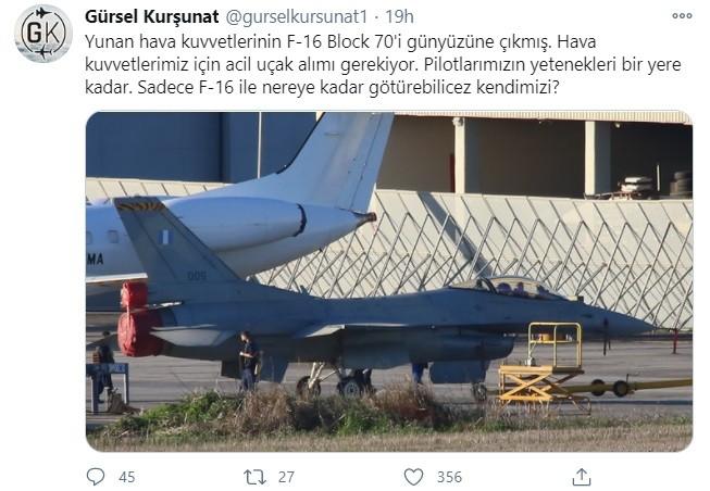 Τούρκοι: Με σκεπτικισμό για το μέλλον της τουρκικής αεροπορίας αντιμετωπίζει η Άγκυρα την αρχή του εκσυγχρονισμού των ελληνικών F-16.