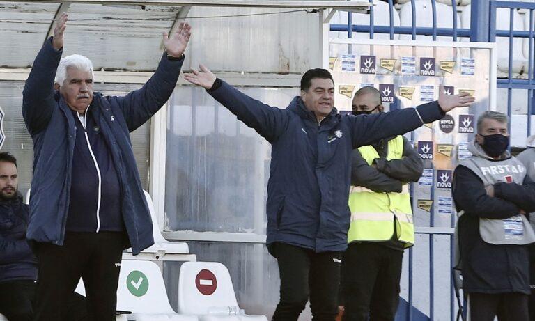 Γκουτσίδης: «Αν δε βάζεις γκολ…»