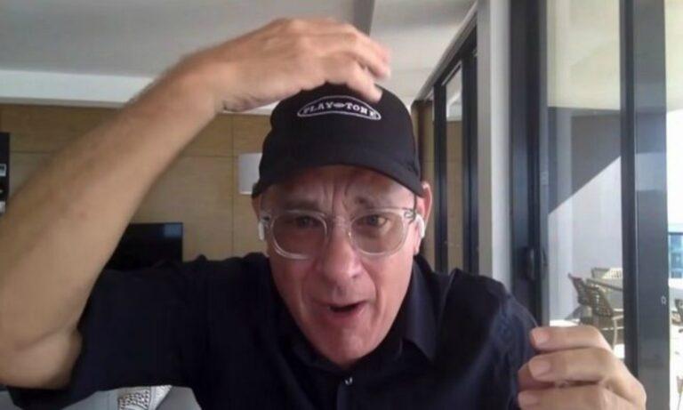 Τομ Χανκς: Αναγκάστηκε να ξυρίσει το κεφάλι του!