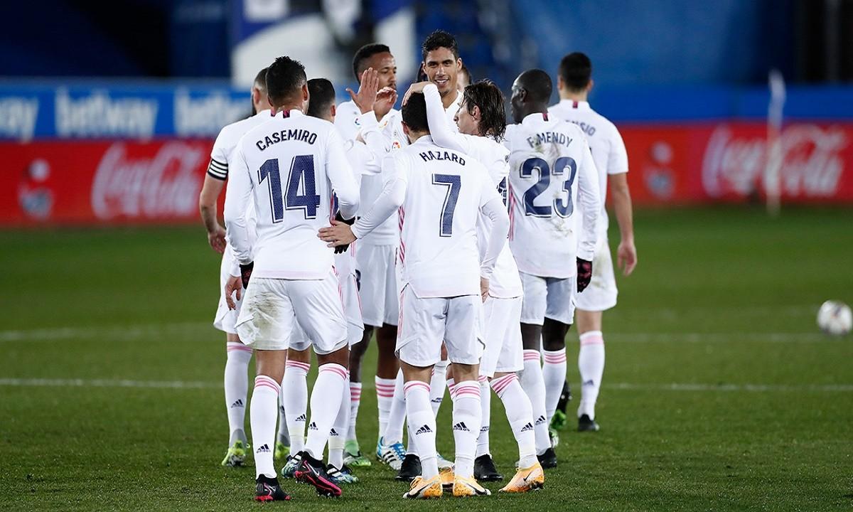 Αλαβές - Ρεάλ Μαδρίτης 1-4: Νίκη και «ξεμπούκωμα» για Αζάρ
