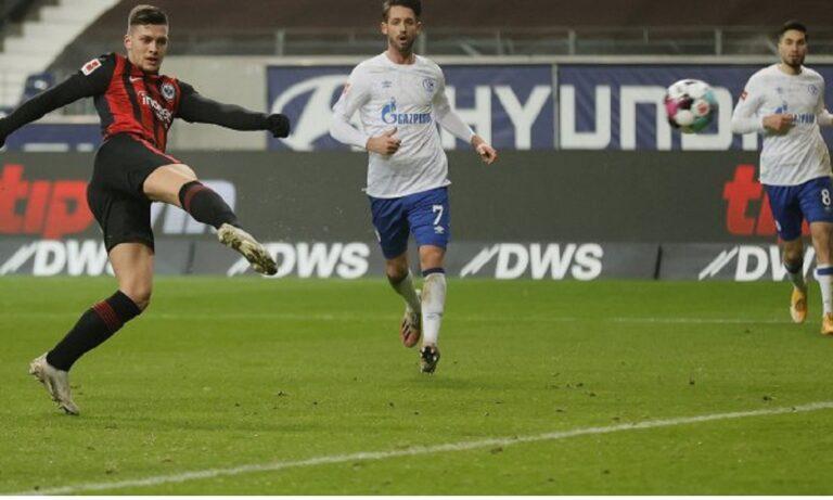 Άιντραχτ – Σάλκε 3-1: Γιόβιτς, η επιστροφή!